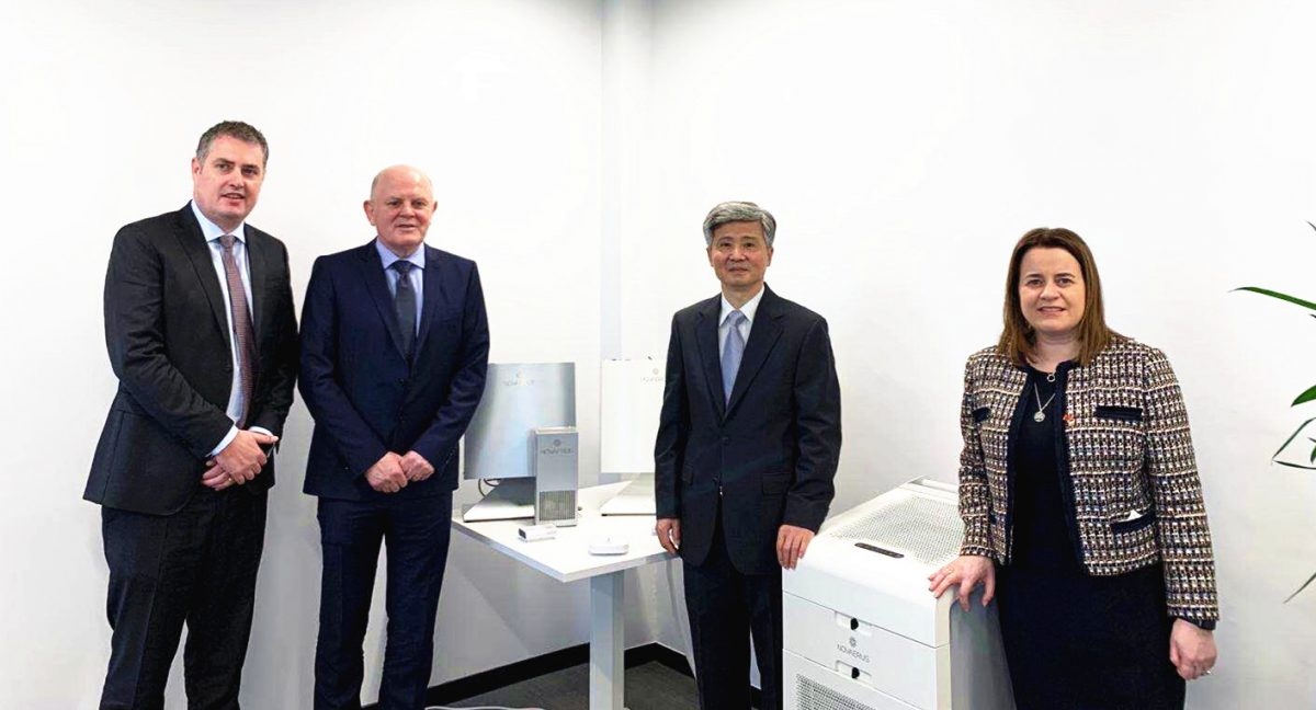 Novaerus Donates Air Dis-infection Technology to Wuhan