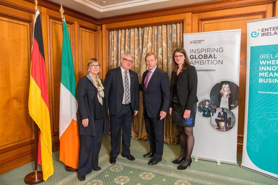 Novaerus Meets Irish Prime Minister